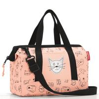Сумка детская allrounder xs cats and dogs rose, полиэстер, Reisenthel