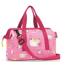 Сумка детская allrounder xs abc friends pink, полиэстер, Reisenthel